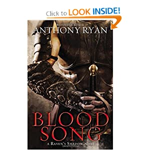 Blood Song (A Raven's Shadow Novel) by Anthony Ryan
