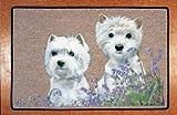 Bluebells of Scotland West Highland White Terrier Decorative Mat