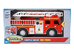 Amazon Com Tonka Lights Amp Sound Fire Truck Toys Amp Games