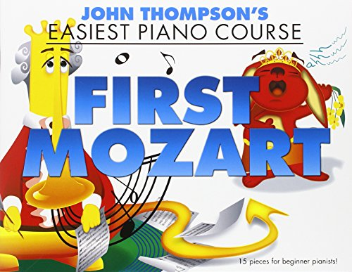 EASIEST PIANO COURSE: FIRST MOZART