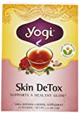 Yogi Skin DeTox, Herbal Tea Supplement, 16-Count Tea Bags (Pack of 6)