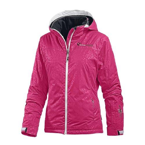 White Season Skijacke Damen, pink/allover, 36