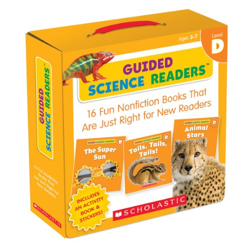 Guided Science Readers: Level D: 16 Fun Nonfiction Books That Are Just Right for New Readers