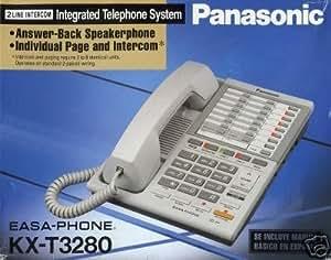 Panasonic KX-T3280 Two-Line Speakerphone with Intercom