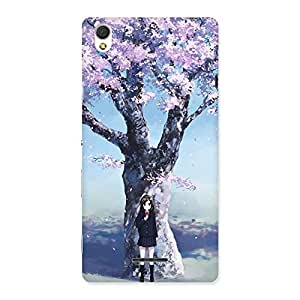 Special Cherry Blossom Girl Back Case Cover for Sony Xperia T3