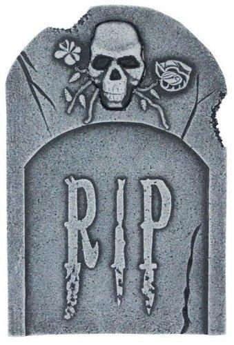 Pietra grave Skull & Roses 40 cm