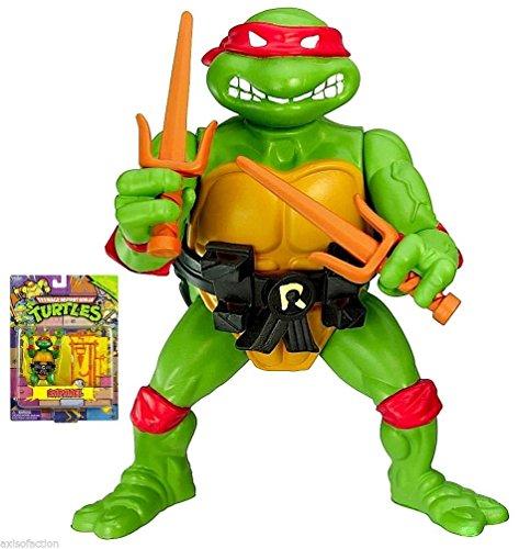 Teenage Mutant Ninja Turtles Classic Collection Raphael Action Figure NIP (Ninja Turtles Action Figures 1988 compare prices)