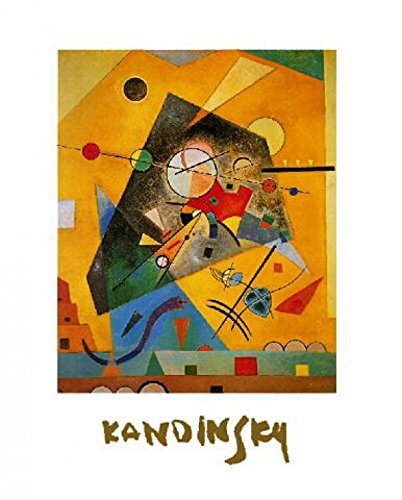 Wassily Kandinsky - Stille Harmonie Stampa D'Arte (80 x 60cm)