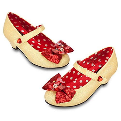 Disney - 2014 Minnie Mouse Costume Shoes for Girls - Size 11/12