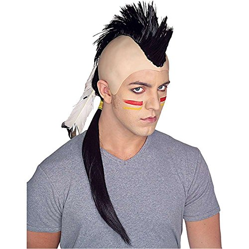 Indian Mohawk Adult Wig