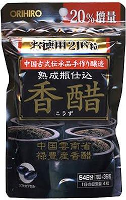オリヒロ 香酢カプセル 徳用 216粒