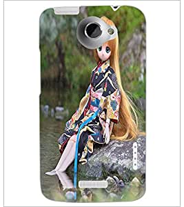 PRINTSWAG CUTE GIRL Designer Back Cover Case for HTC ONE X