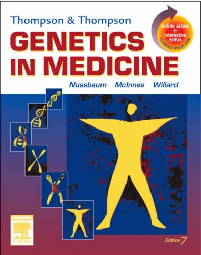 Thompson  Thompson Genetics in Medicine: With STUDENT CONSULT Online Access
