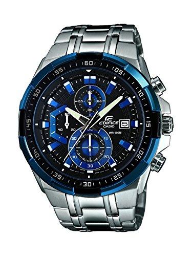 [カシオ] CASIO 腕時計 Edifice エディフィス クォーツ EFR-539D-1A2VUEF [バンド調節工具&高級セーム革セット]【並行輸入品】