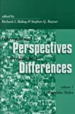 img - for International Perspectives on Individual Differences: Cognitive Styles book / textbook / text book