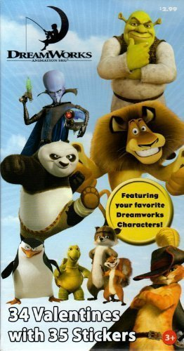 dreamworks-characters-valentine-cards-for-kids-with-stickers-45953-by-paper-magic