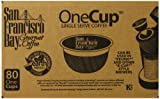 San Francisco Bay Coffee, French Roast, 80 OneCup Single Serve Cups