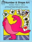 img - for Number & Shape Art (Activities Patterns Games Includes numeral and shape recognition, number sets, counting, number and shape words and more) book / textbook / text book