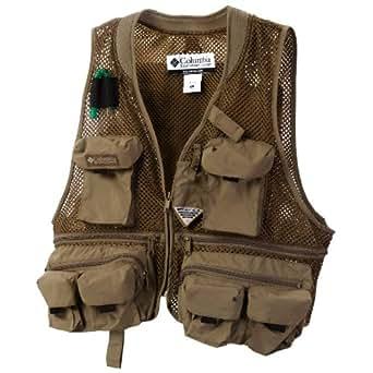 Columbia pfg creek mesh fishing vest one for Fishing vest amazon