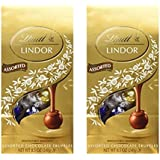 Lindt Lindor Assorted Milk Chocolate Truffles, Irresistibly Smooth, 8.5 Ounces, (Pack of 2)
