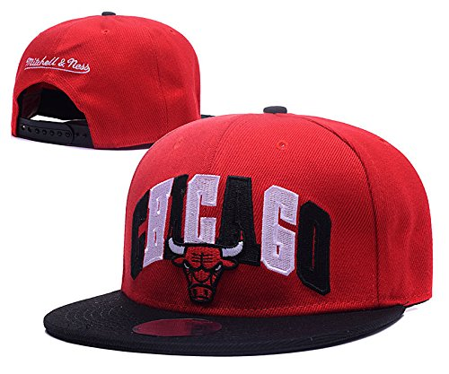 fashion-chicago-bulls-breakout-team-logo-red-adjustable-hat-with-pom