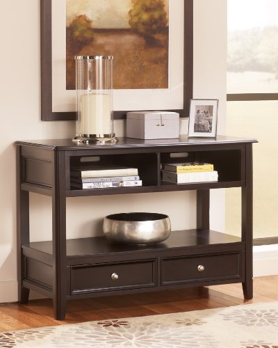Cheap Contemporary Almost Black Sofa Console Table (T771-4)