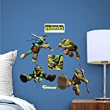 Fathead Teenage Mutant Ninja Turtles Fathead Teammate Team Set
