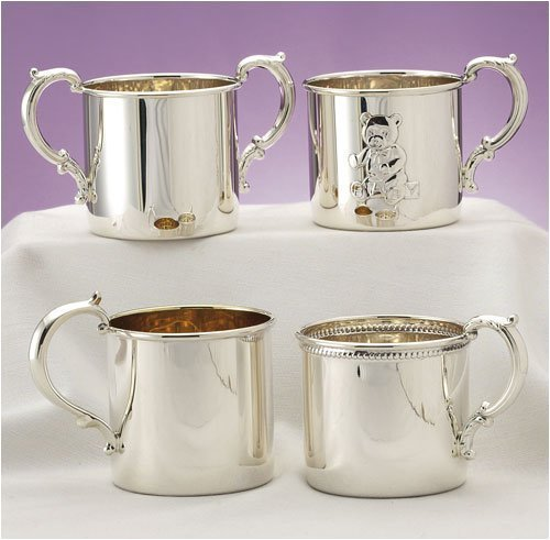 Empire Silver Sterling Baby Cup With Double Handle