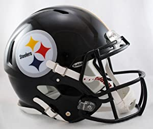 NFL Pittsburgh Steelers Speed Authentic Football Helmet by Riddell