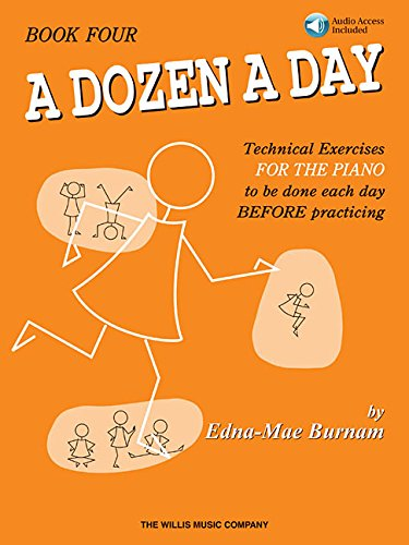 A Dozen a Day Book 4 - Book/CD Pack (Dozen a Day Songbooks) (Tapa Blanda)