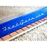 FretGuru Precision Sanding Beam Fret Leveler Leveling File Pro Luthier Guitar Tech Tool includes 100, 240, 320 sandpaper