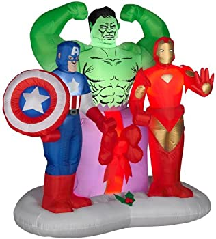 Lighted Marvel 6 ft. Avengers Christmas Inflatable