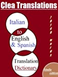 Italian To English and Spanish Dictio...