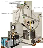 Buchi R Rotary Evaporator Refurbished Complete System Plus Cooling and Vacuum System Included Complete 100% Every Thing Needed to Run Fully Loaded