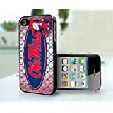 Ole Miss Rebels Basketball Football University of Mississippi Sports Team Iphone 4 4s Case