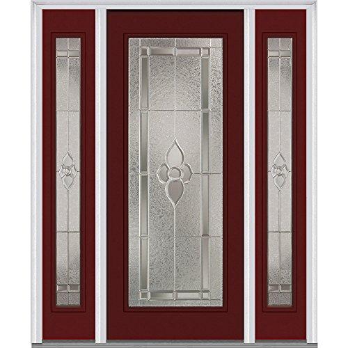 National Door Company 15 Lite Poplar Wood Prehung In Swing Interior Door Dealtrend