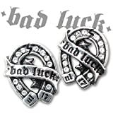 Bad Luck Studs (Pair) Alchemy Gothic Earring