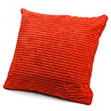 Striped Corduroy Cushion Cover Sofa Pillow Case Home Decoration