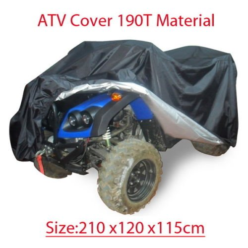 NEW Quad bike ATV ATC cover PU WaterProof Size 210x120x115CM (Ktm Rear Fender Bag compare prices)
