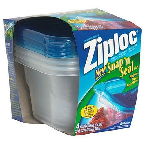 Ziploc 10880 4 Pack Freezer ContainerB0000DIWUO : image