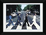 GB eye The Beatles Abbey Road Framed Photograph,8x6 inches