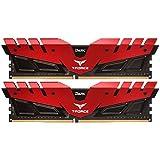 Team 8GB (2 x 4GB) T-Force DARK DDR4 PC4-24000 3000MHz Desktop Memory Model TDRED48G3000HC16CDC01