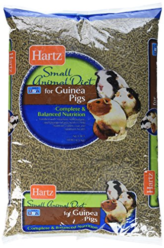 Hartz Small Animal Diet for Guinea Pigs (1 Pack), 10 lb