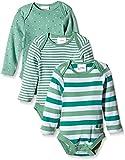 Twins Baby - Jungen Langarm-Body im 3er Pack, Gr. 92,...