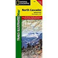 North Cascades National Park, WA - Trails Illustrated Map #223 (Ti - National Parks)