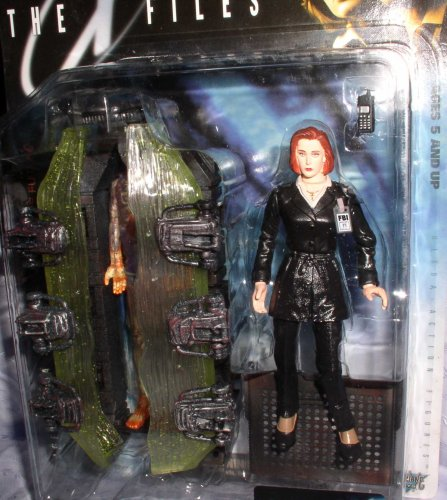 Buy Low Price McFarlane X FILES FIGHT THE FUTURE AGENT DANA SCULLY W/CYRPT Figure (B0012N3HSG)