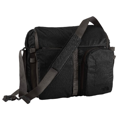 The North Face Westing Messenger Tnf Black Heather / Graphite Grey front-834363