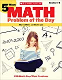 5-Minute Math Problem of the Day: 250 Multi-Step Word Problems
