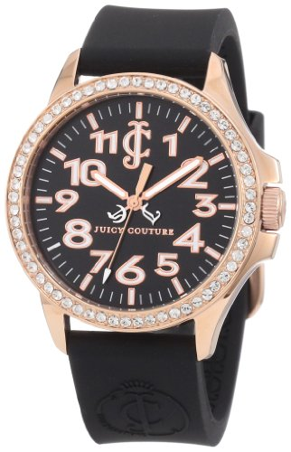 Juicy Couture Jetsetter Silicone Ladies Watch 1900964