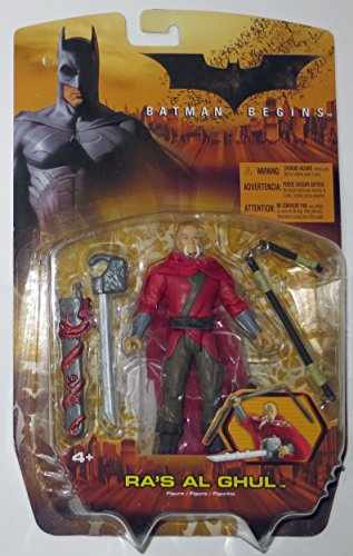 Mattel H1300 - Batman Begins Aktionsfigur: Ra's Al Ghul